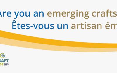 Appel à candidatures : New Brunswick Artisans Nouveau-Brunswick à Craft East Buyers' Expo 2020