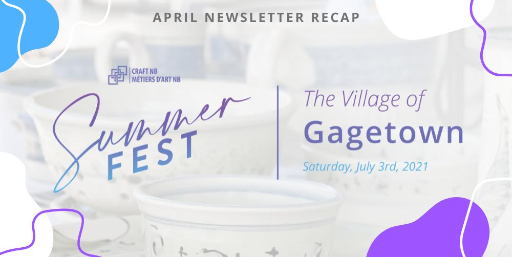 Newsletter Recap | April 2021